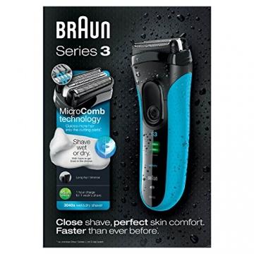 Braun Series 3 3040s Wet & Dry elektrischer Folienrasierer - 3