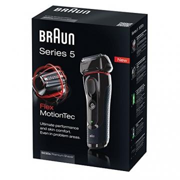 Braun Series 5 5030s Wet & Dry Elektrorasierer mit Präzisionstrimmer - 3