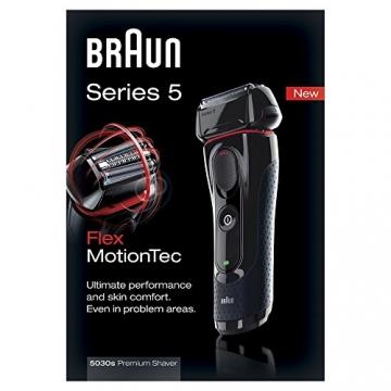 Braun Series 5 5030s Wet & Dry Elektrorasierer mit Präzisionstrimmer - 4