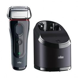 Braun Series 5 5050cc  Elektrorasierer mit Clean&Charge-Station und zwei Nachfüllpackungen - 1