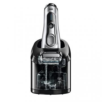 Braun Series 9 9090cc elektrischer Folienrasierer mit Reinigungsstation, Silber - 5