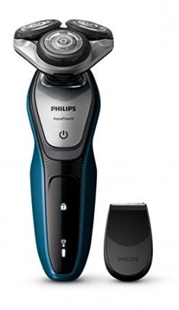 Philips S5420/06 AquaTouch Nass- und Trockenrasierer, Präzisionstrimmer - 1
