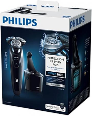 Philips S9111/31 Series 9000 Nass- & Trockenrasierer (Reinigungsstation, Bartstyler) - 6