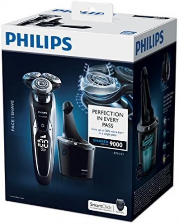 Philips S9711/31 Series 9000 Nass- & Trockenrasierer (Reinigungsstation Pro, Bartstyler) - 6