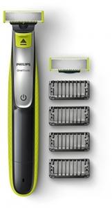 Philips OneBlade QP2530/30, Trimmen, Stylen, Rasieren / 4Trimmeraufsätze, 1 Ersatzklinge - 1