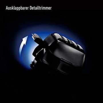 Panasonic kompakter Rasierer ES-CV51-S803 ideal für Reisen, mit 5 Scherelementen, Nass- und Trockenrasur, inkl. Reiseetui - 4